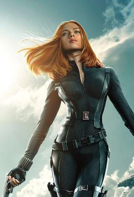 Black Widow, es interpretada por Scarlett Johansson