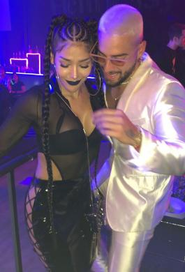 Farina y Maluma tienen una colaboración en el nuevo disco del cantante
