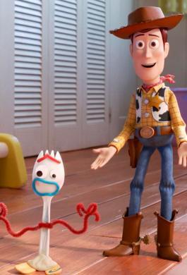 El comisario Woody en Toy Story 4