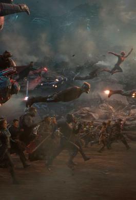 Escena de la película Avengers End Game