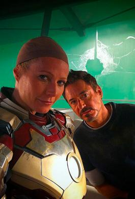 Robert Downey Jr. y Gwyneth Paltrow