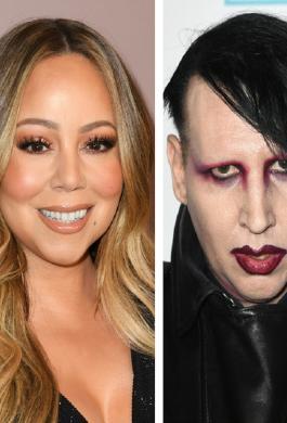 Marilyn Manson y Mariah Carey