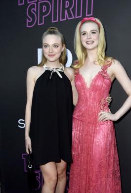Dakota y Elle Fanning