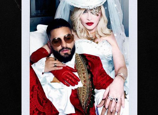 Madonna y Maluma tendrán un colaboración