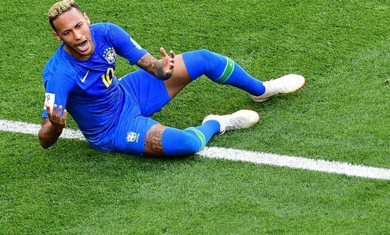 Neymar, delantero de Brasil