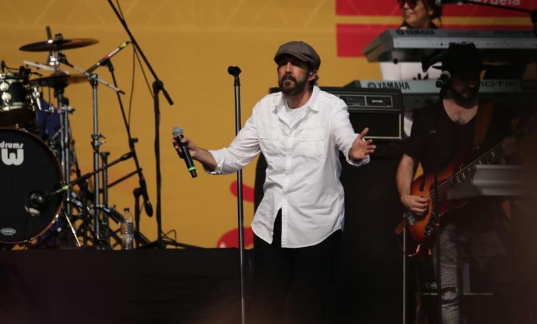 Juan Luis Guerra en el 'Venezuela Aid Live'