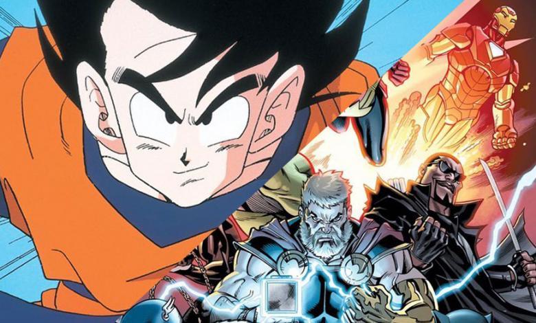 Dragon Ball y Marvel Comics