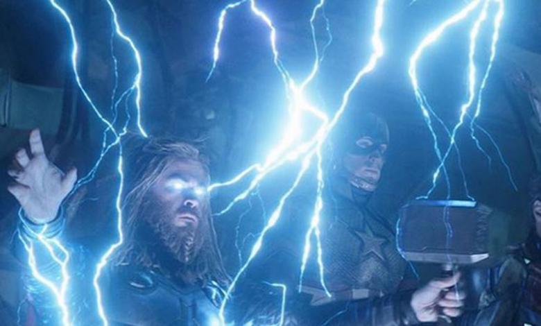 Thor y  Capitan América en Avengers 'Endgame'