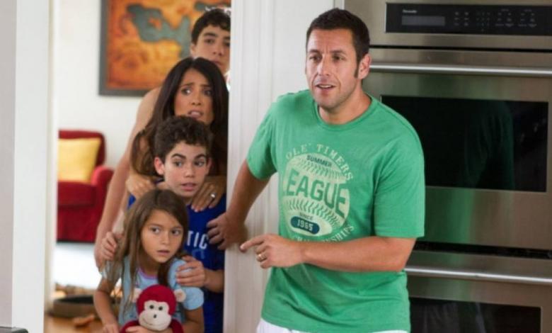 Cameron Boyce hizo de uno de los hijos de Adam Sandler en 'Son como niños' (Grown Ups)