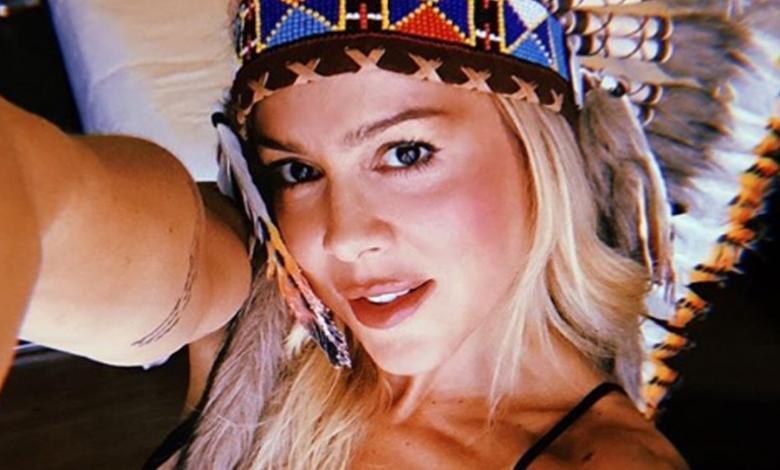 La Dj compartió un viejo video que grabó para promocionar su canción 'Antes del eclipse'