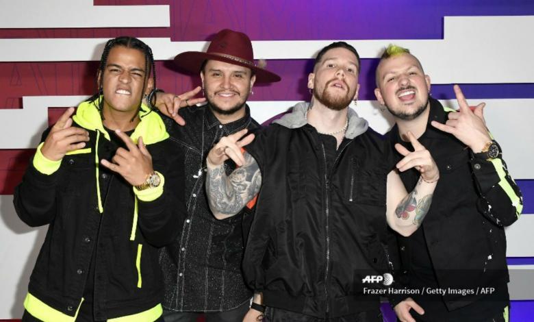 Piso 21 en los Latin AMAs 2019