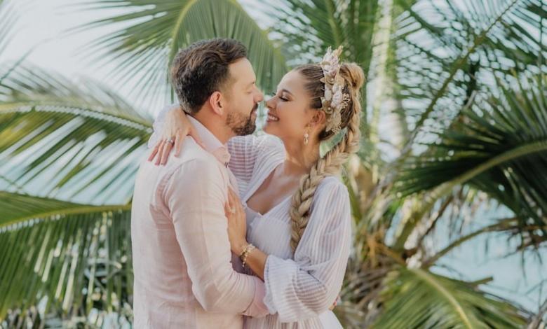 Así fue la boda de lujo entre Melissa Martínez y Matías Mier
