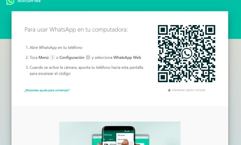 WhatsApp Web permite chatear desde un pc