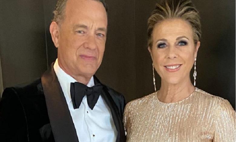 Tom Hanks y su esposa Rita Wilson