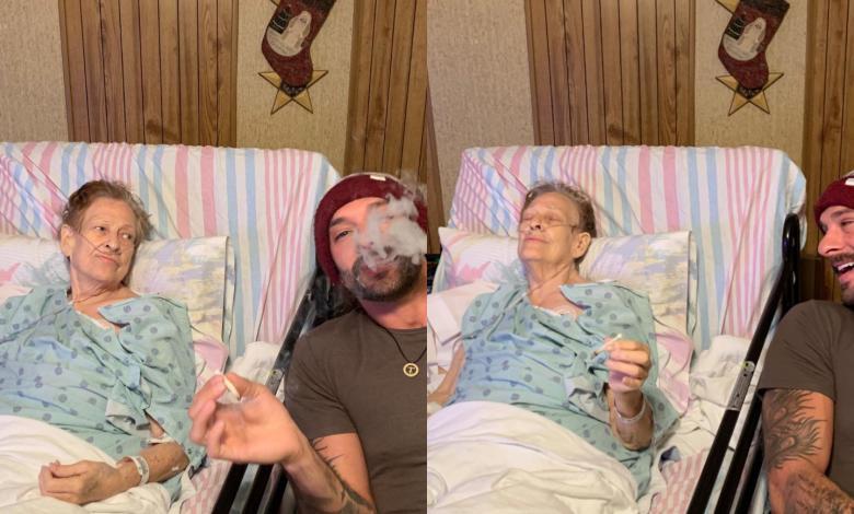 """Nieto fuma hierba con su abuela antes de su muerte: """"El mejor porro de mi vida"""""""