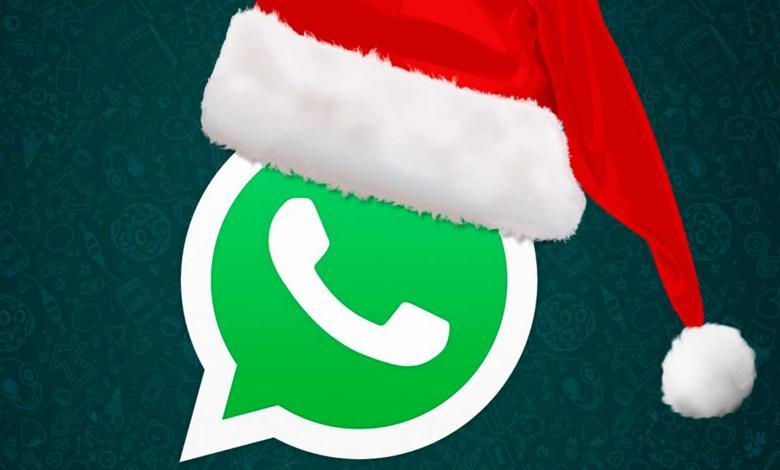 Logo de WhatsApp Navidad