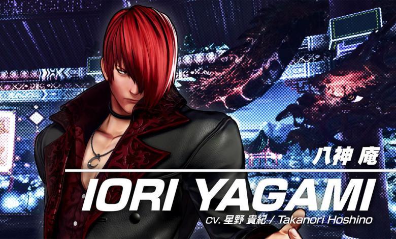 Iori Yagami, peleador en The King of Fighters XV