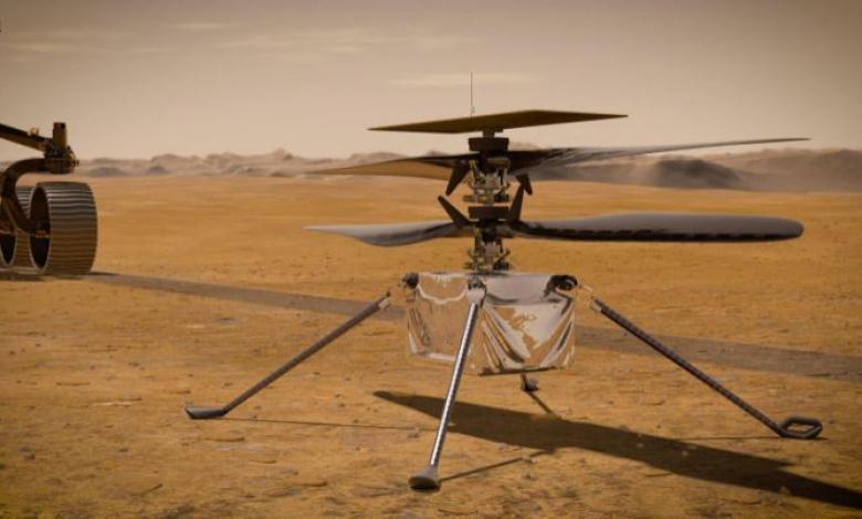 Helicóptero Ingenuity de la NASA