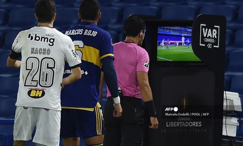 Andrés Rojas, árbitro bogotano en Boca vs Mineiro