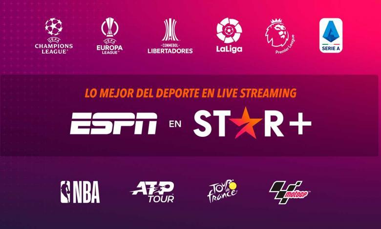 ESPN en Star+