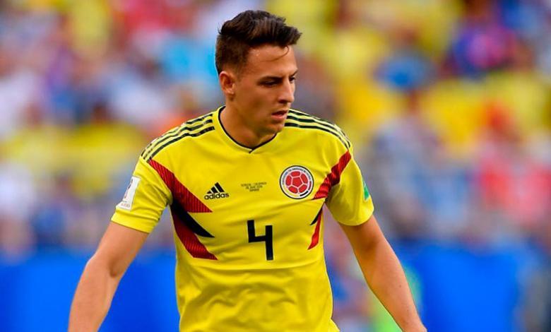 Santiago Arias jugaba como lateral derecho en la Selección Colombia