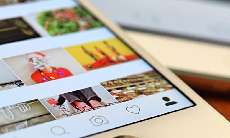 Instagram en IPhone
