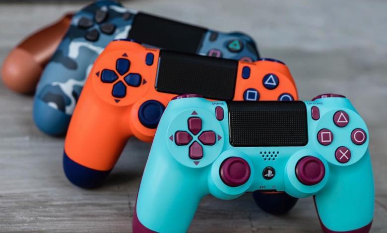 Controles de Playstation 4