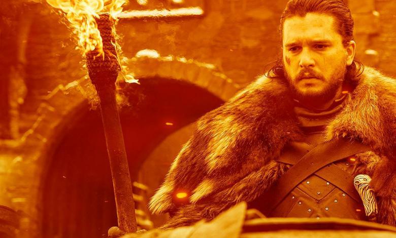 Jhon Snow en la última temporada de Game of Thrones