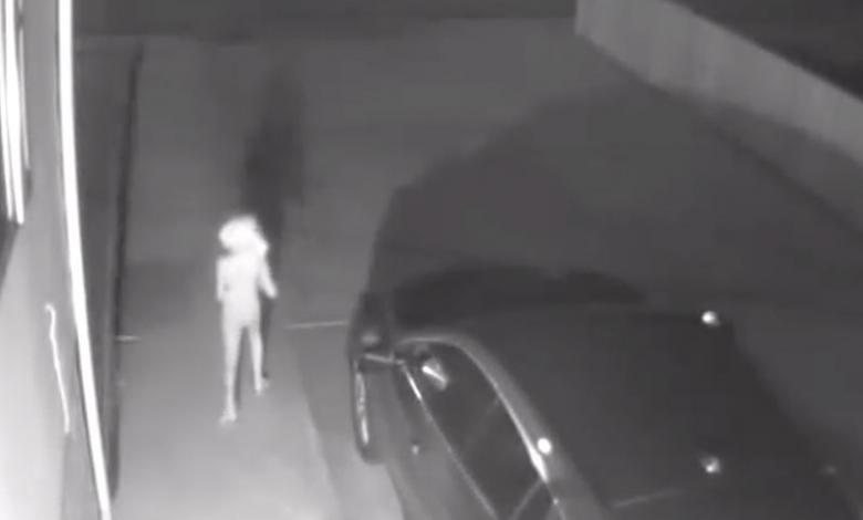 Video de supuesta aparición paranormal