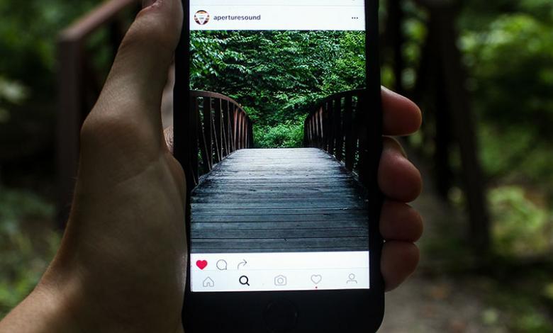 Publicación en Instagram