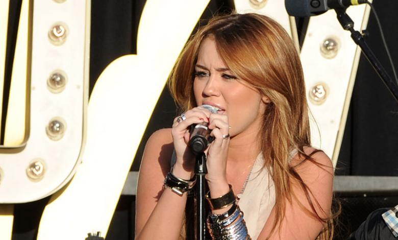 Miley Cyrus comenzó su fama con Hannah Montana
