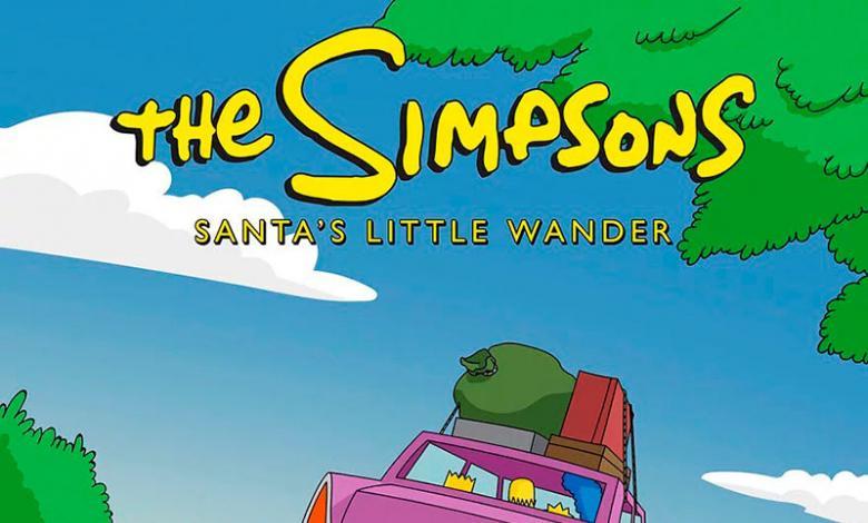El perro de Los Simpson fue abandonado