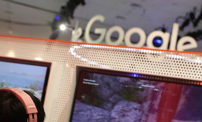Gamer probando Google Stadia