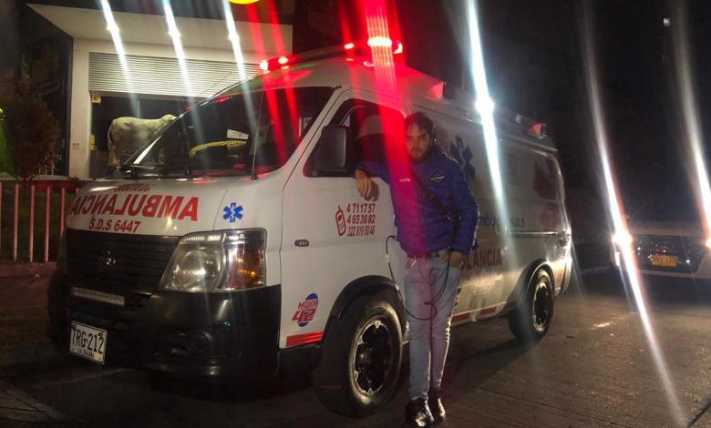 Recorrido en ambulancia en El Cartel Paranormal