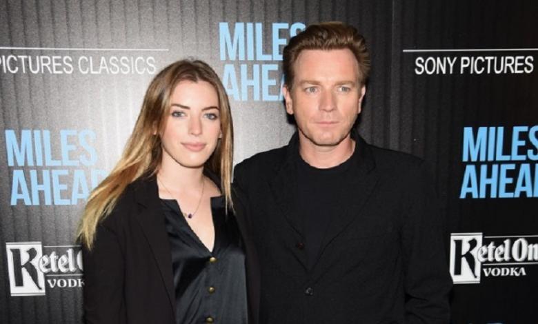 Clara y  Ewan McGregor