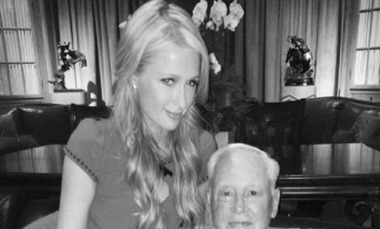 Paris Hilton y su abuelo