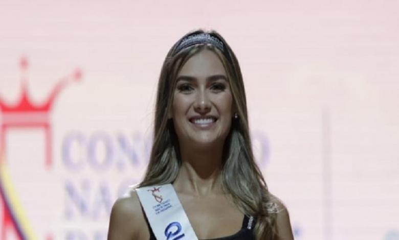 María Fernanda Aristizabal,elegida como la nueva Señorita Colombia2020