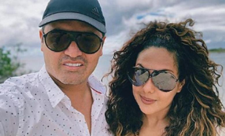 Hassam y su esposa