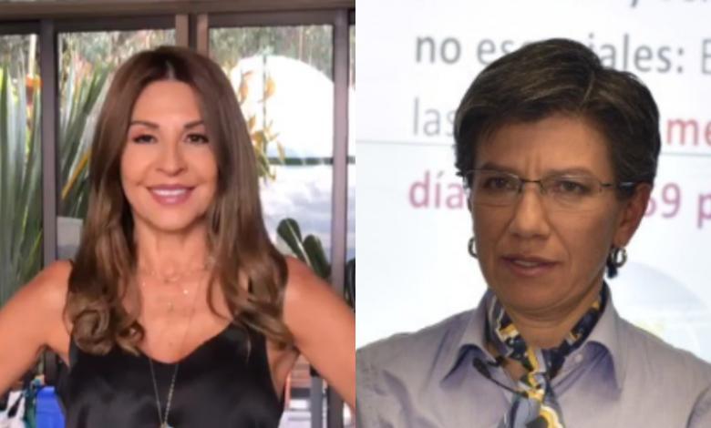 Amparo Grisales y Claudia López
