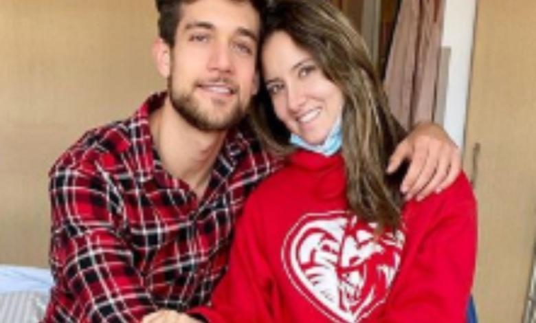 Daniella Alvarez y su novio