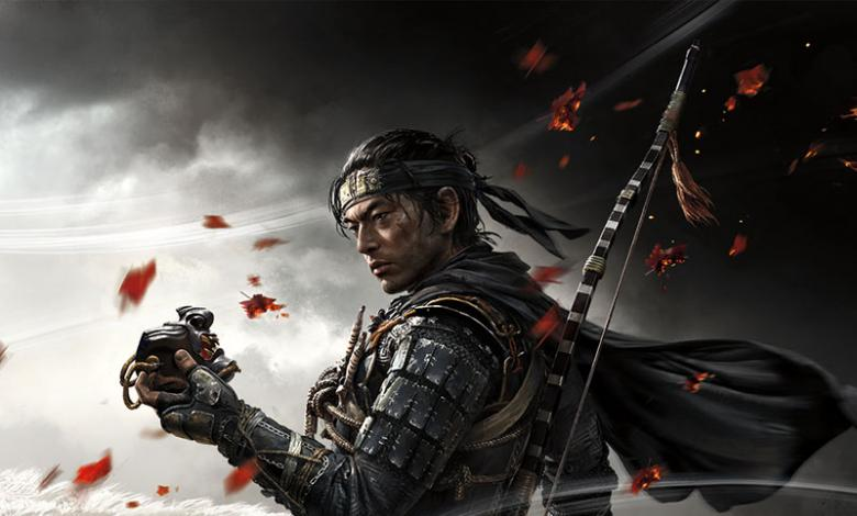 Ghost of Tsushima, portada del juego