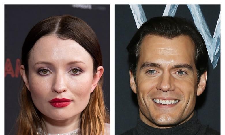 Emily Browning y Henry Cavill