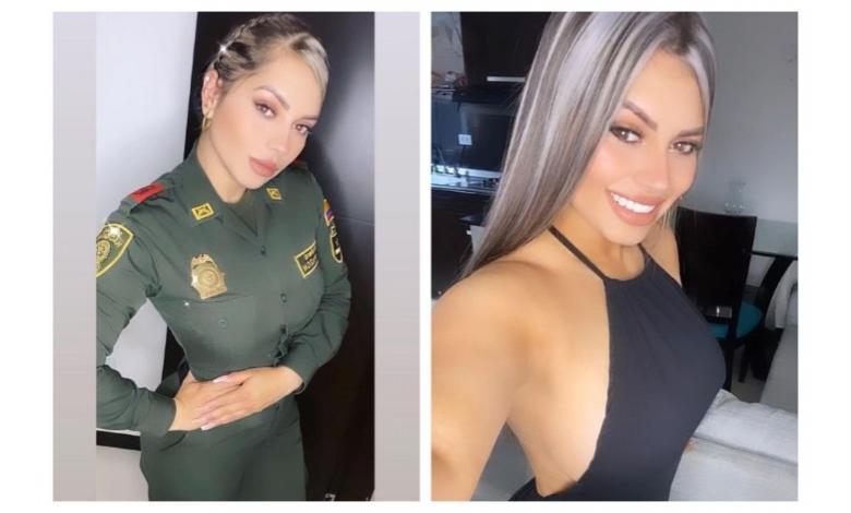 Alexa Narváez, policía