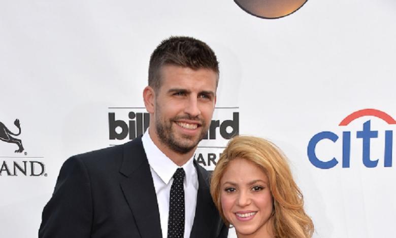 Shakira y Piqué cuadrada