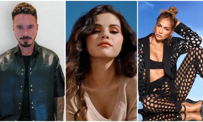 J Balvin, Selena Gómez y Jennifer López