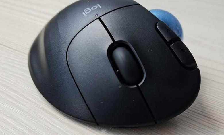 Mouse trackball Ergo M575