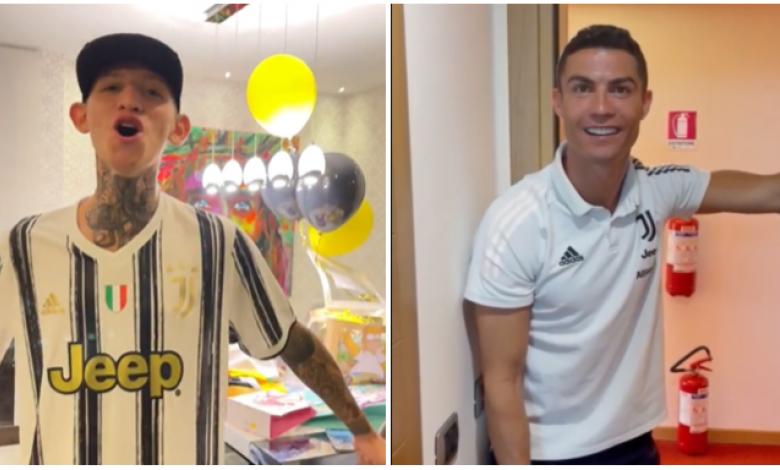 La Liendra y Cristiano Ronaldo