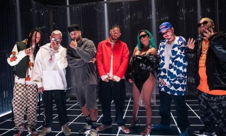 Karol G, J Balvin y Nicky Jam en 'Poblado Remix '