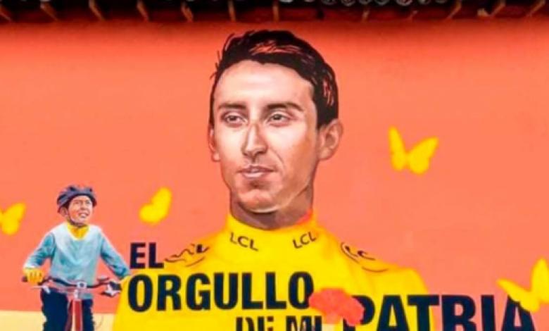 Julián Gómez, fan de Egan Bernal
