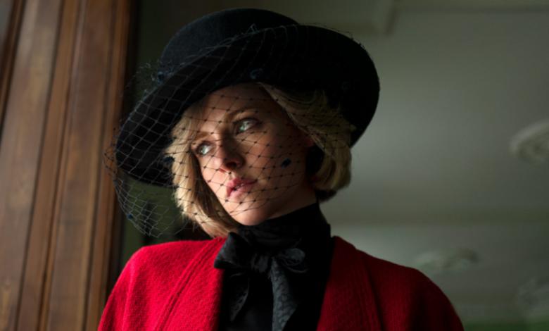 Lady Di, personificada por Kristen Stewart